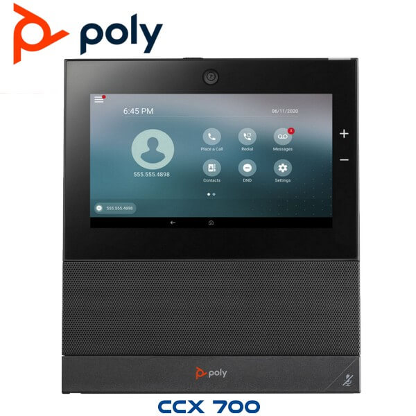 Ploy Ccx 700 Business Media Phone Without Handset Open Sip Uae