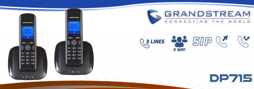 Grandstream DP715 Dect Phone Dubai